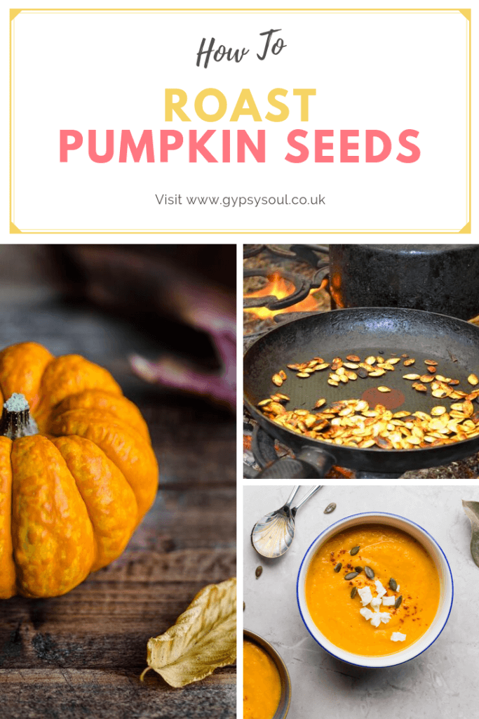 How to roast pumpkin seeds. Helping ot reduce your food waste #autumn #autumncooking