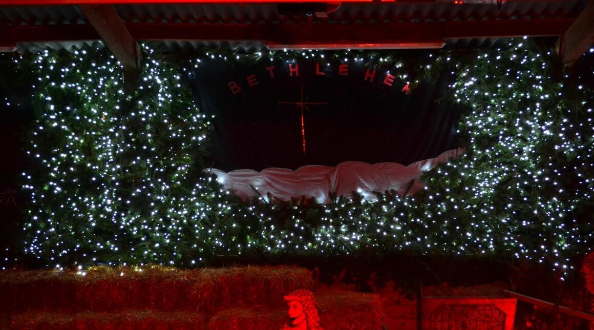 The Christmas nativity at Pennywell Farm