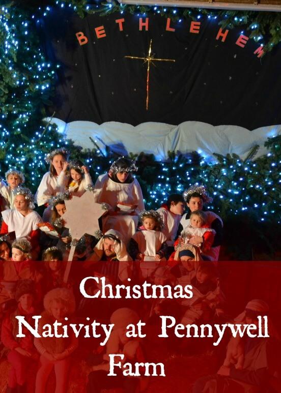 Christmas nativity at Pennywell Farm