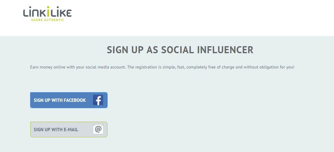 How to earn money on social media with LINKILIKE