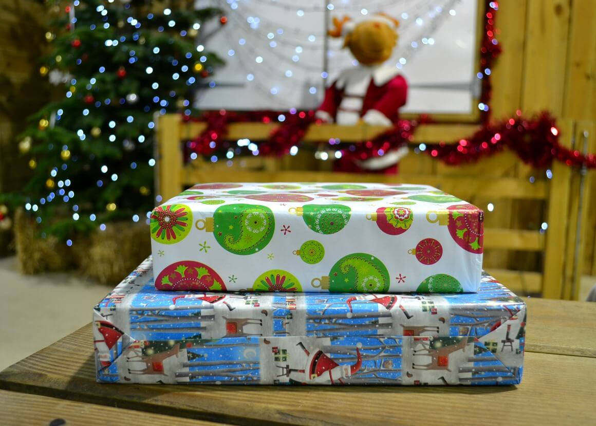 Presents from Santa at Pennywell Farm