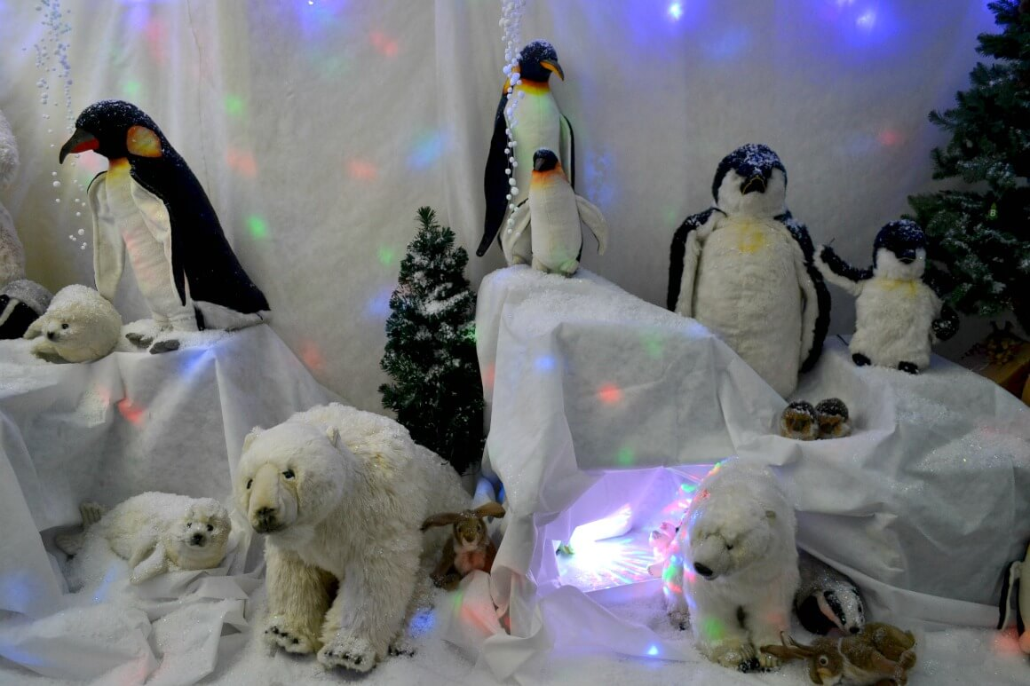 Father Christmas Grotto at Jack's Patch in Teignmouth Devon