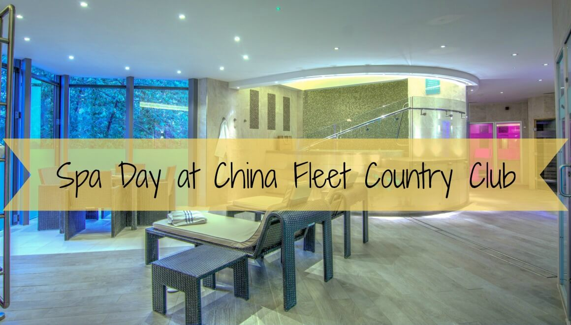 Spa day at China Fleet Country Club in Saltash, Cornwall