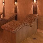 Tepidarium loungers at china fleet country club spa