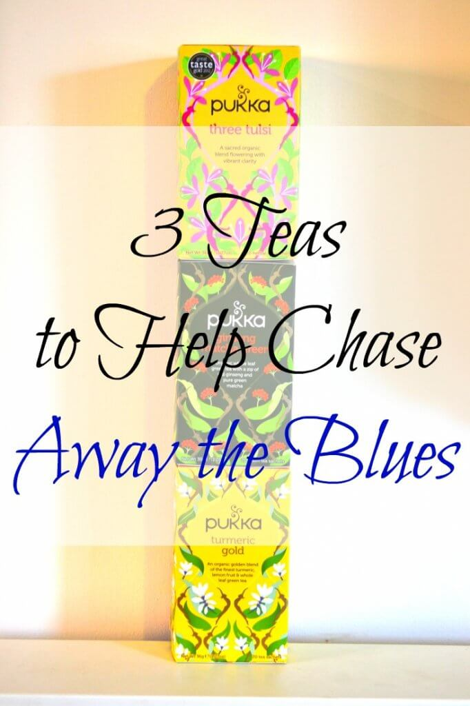 3 Teas to Help Chase Away the Blues