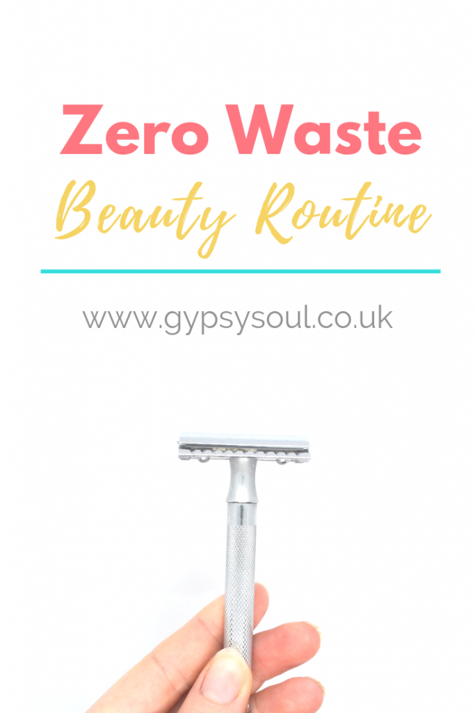 My updated zero waste beuaty routine - Check it out now! #zerowaste #zerowastebeauty