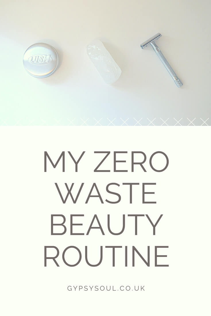 zero waste beauty routine #zerowaste #greenliving #sustainablelifestyle
