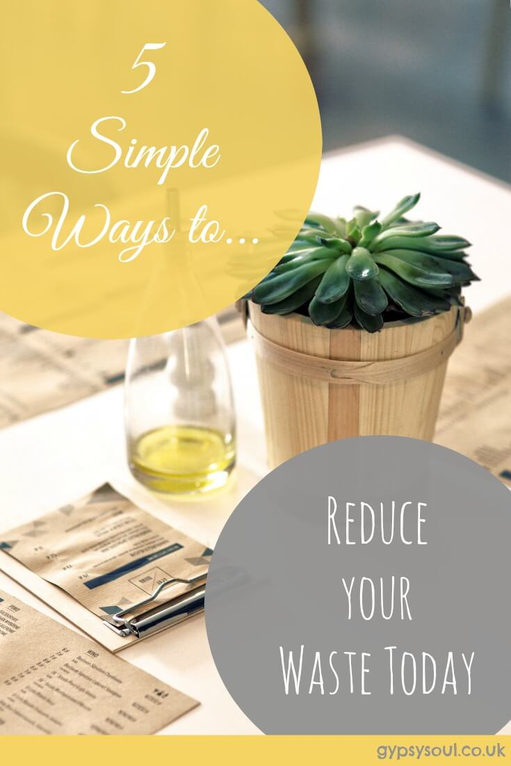 5 Simpe Ways to Reduce your Waste Today