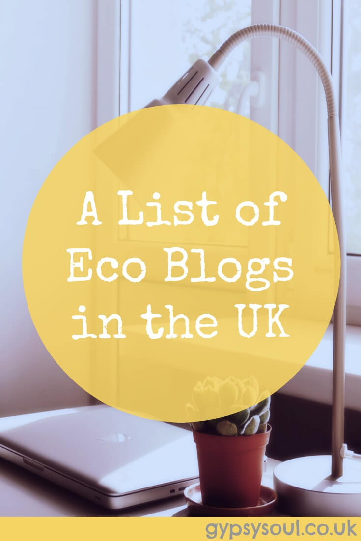 A list of eco blogs in the UK