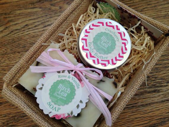Soap & body butter gift set