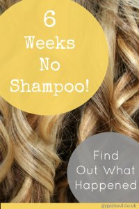 6 weeks no shampoo - Find out what happened
