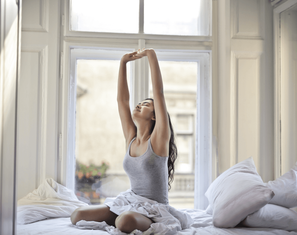 morning rituals stretch