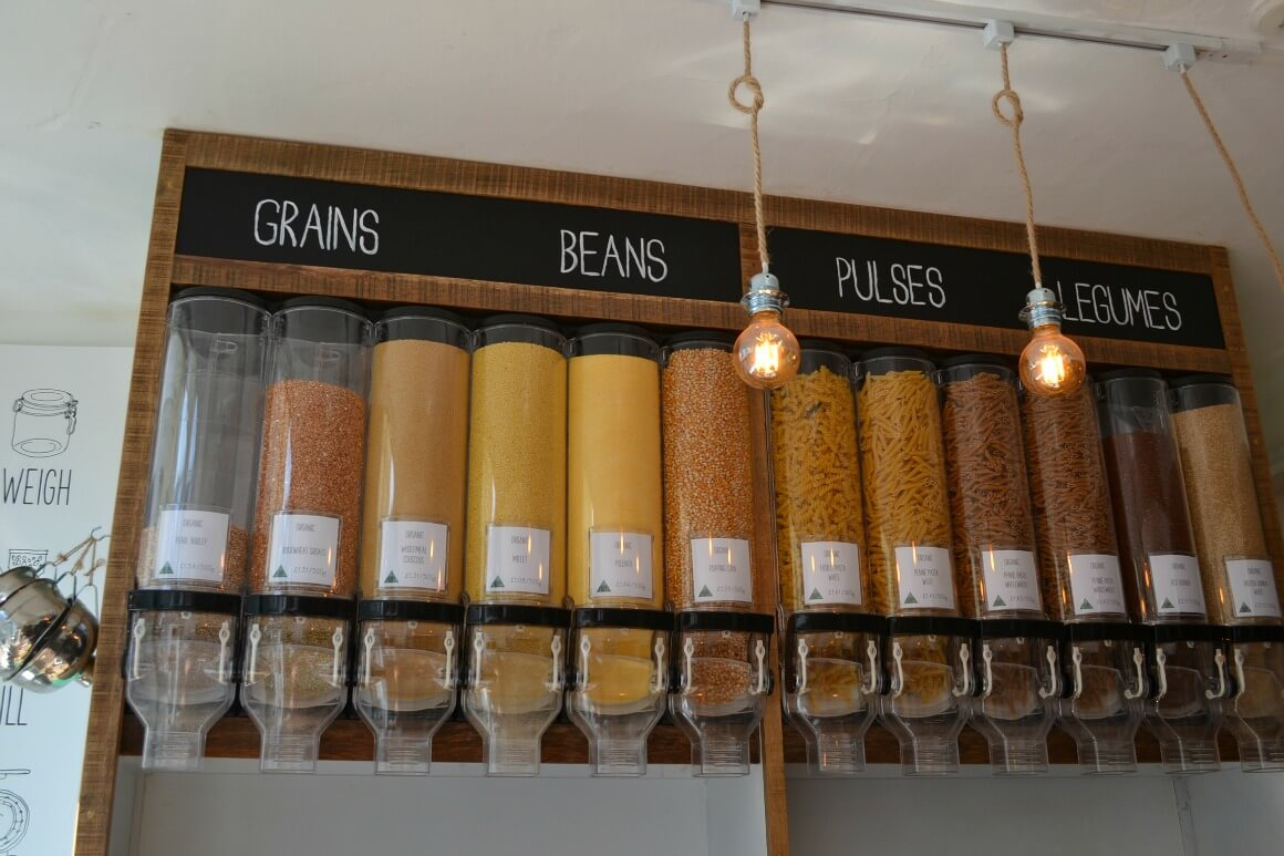 Zero Waste Shopping - Grains, Beans, Pulses