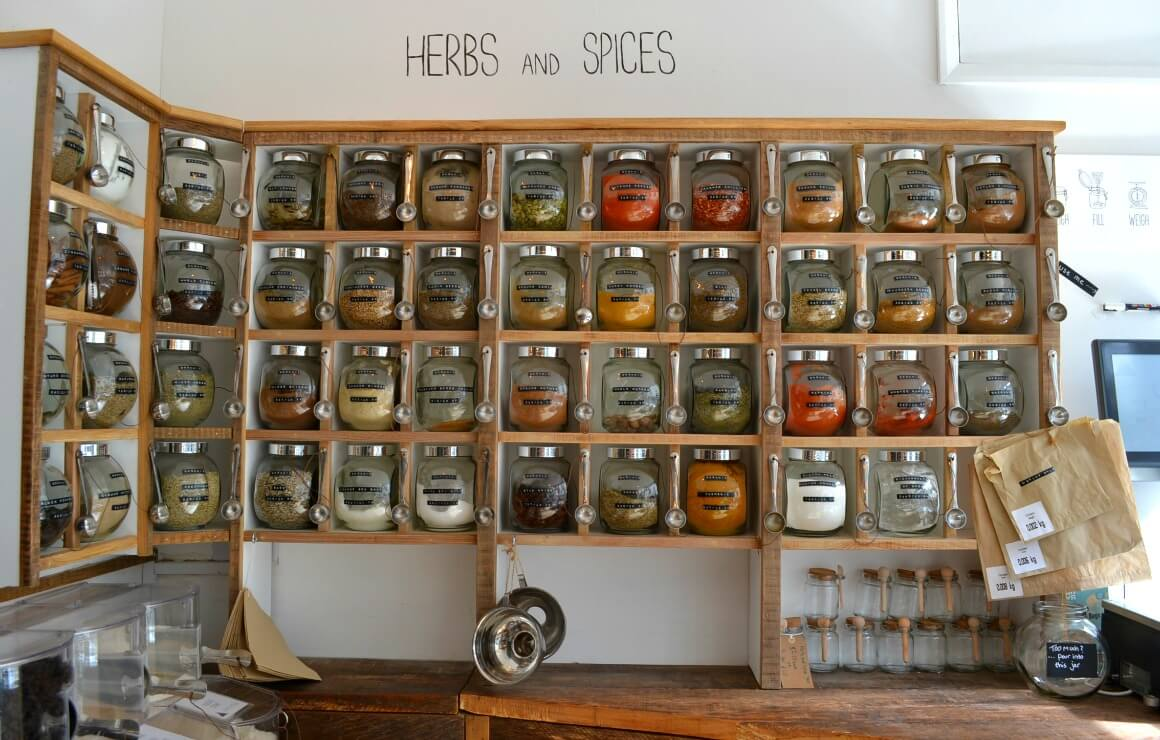Zero Waste Shopping - Herbs & Spices