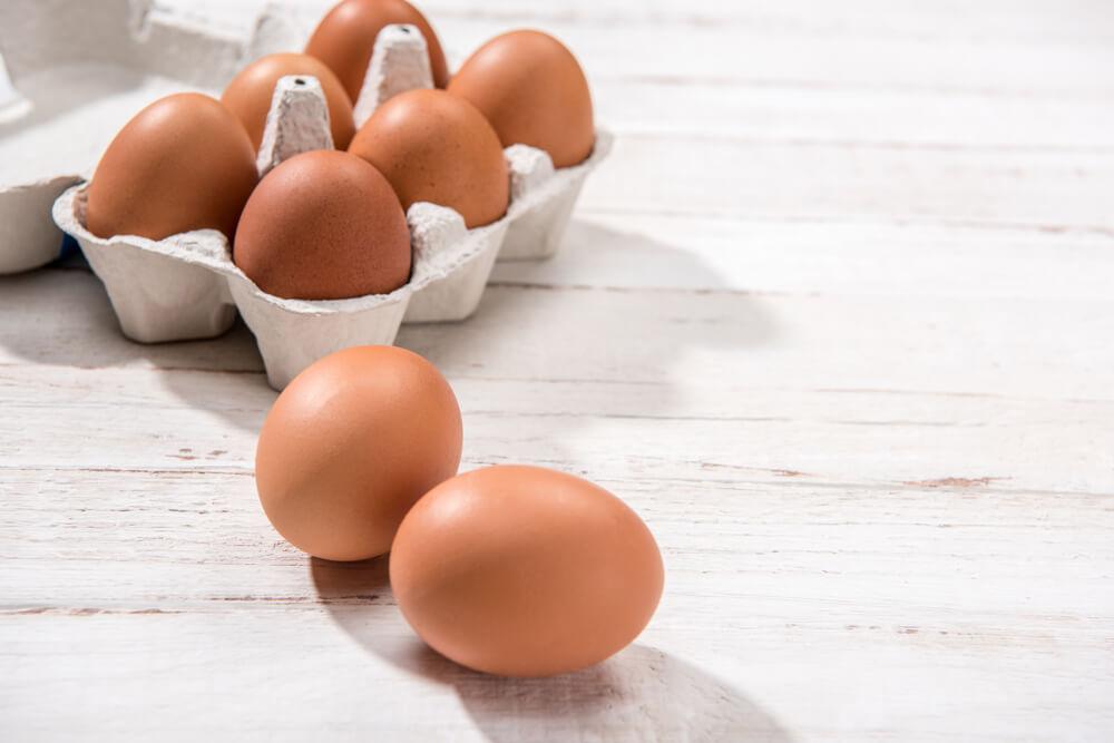 Eggs for hair