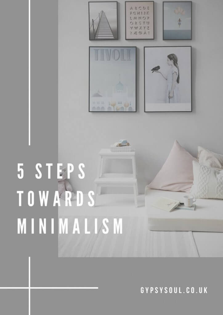 5 Steps towards Minimalism
