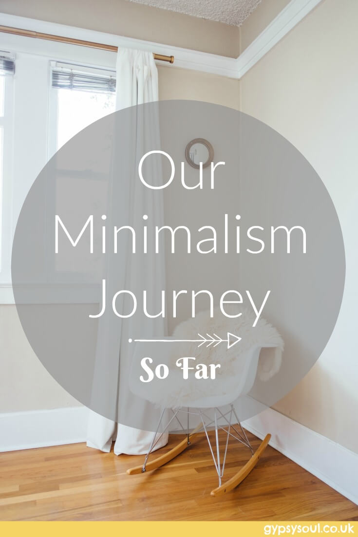 Our minimalism Journey so far