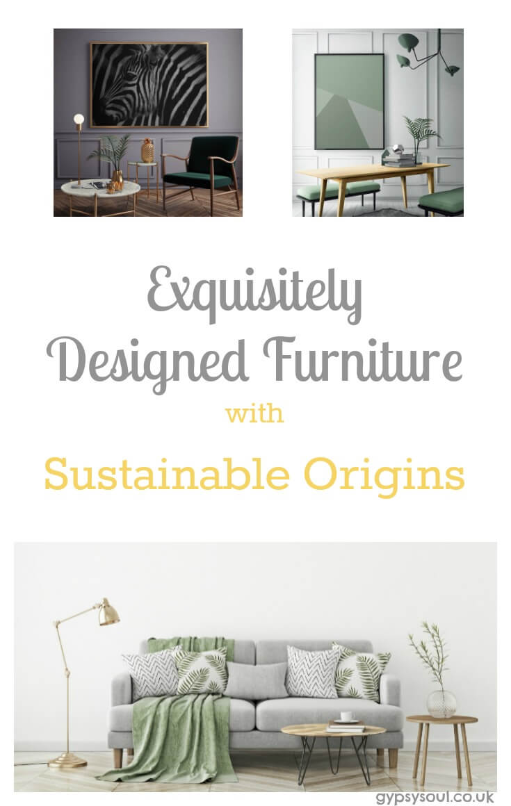 Sustainable furniture with Venoor Living