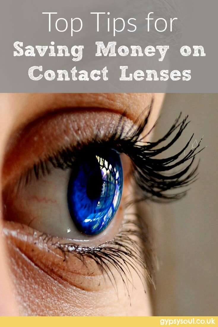Top tips for saving money on contact lenses