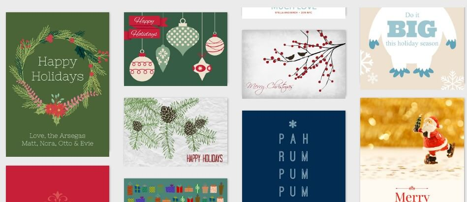 PicMonkey Christmas cards How to