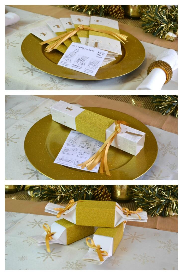 Reusable Christmas Crackers - Zero waste home