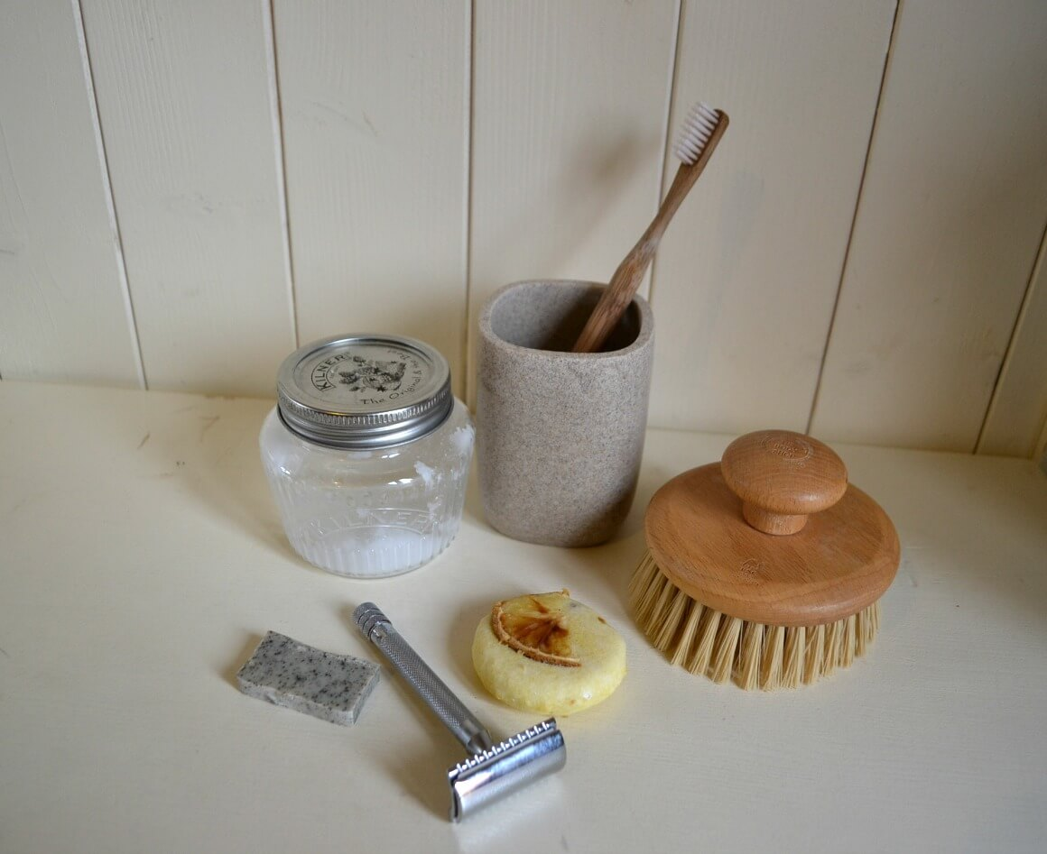 Zero waste beauty routine