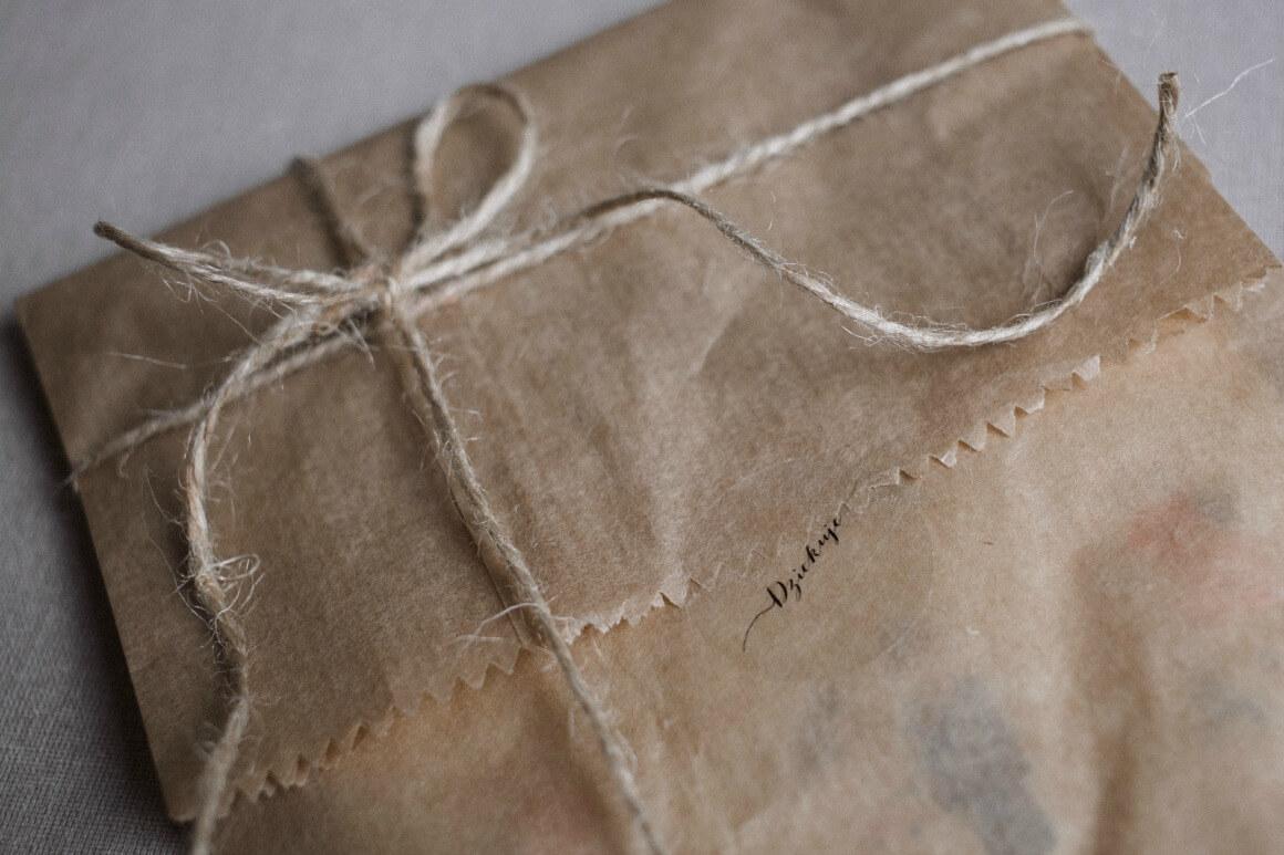 zero waste wrapping paper