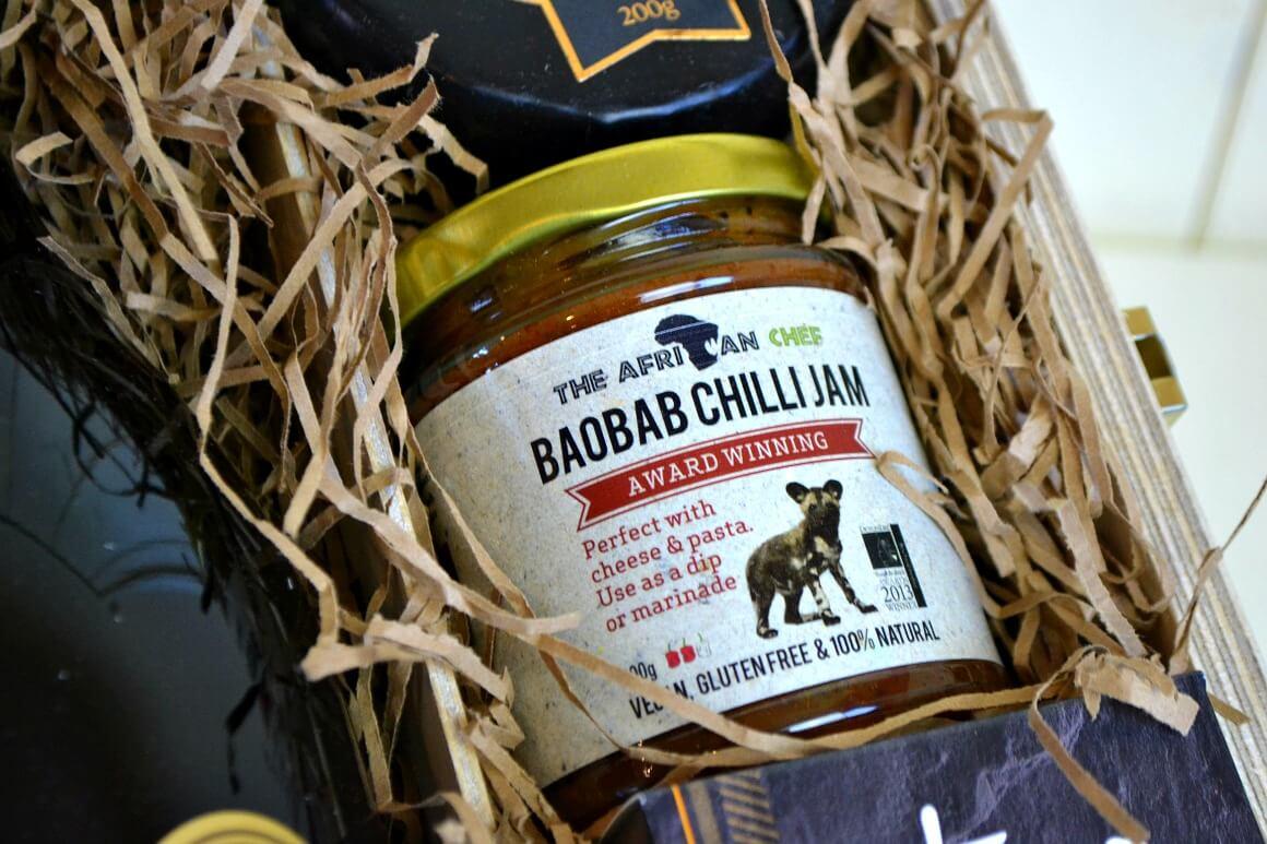 Baobab chilli jam