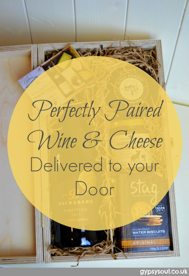 Perfectly Paired wine & cheese - Delivered to your Door