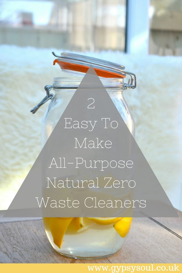 2 Easy To Make All-Purpose Zero Waste Cleaners
