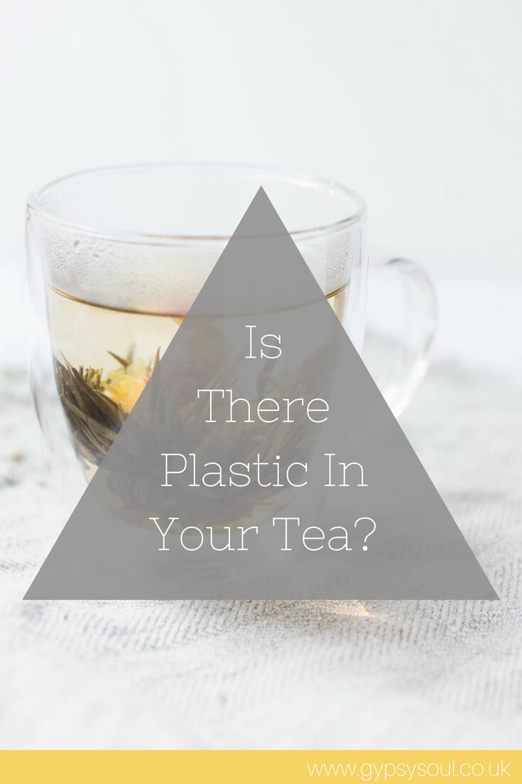 Is there plastic in your tea? #PlasticFree #SayNoToPlastic #GreenLiving