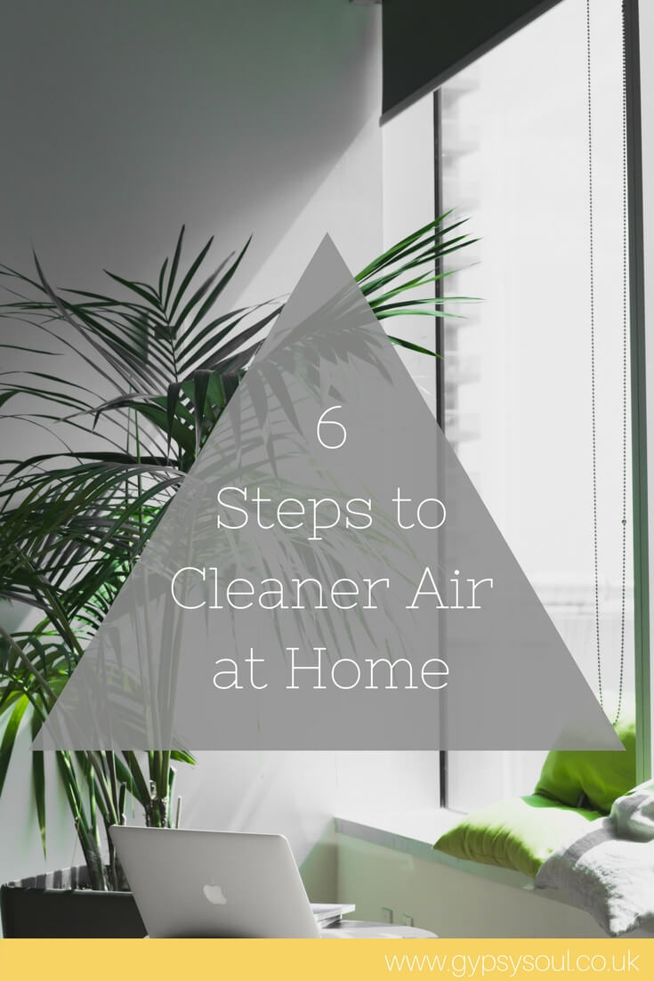 6 Steps to Cleaner Air at Home