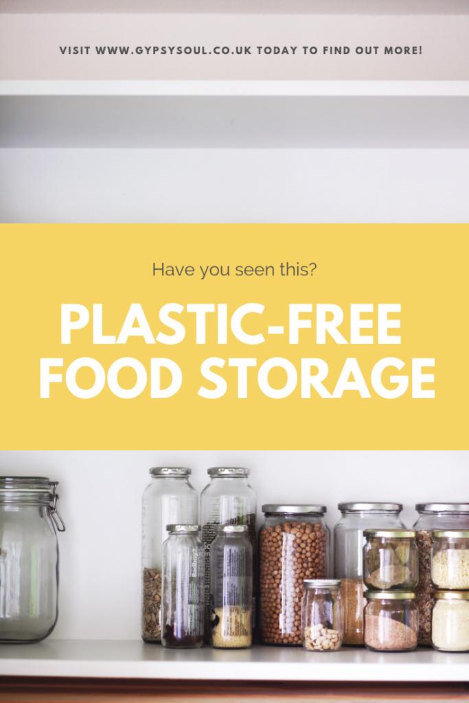 Check out this great plastic-free food storage idea #zerowasteliving #zerowaste #plasticfree