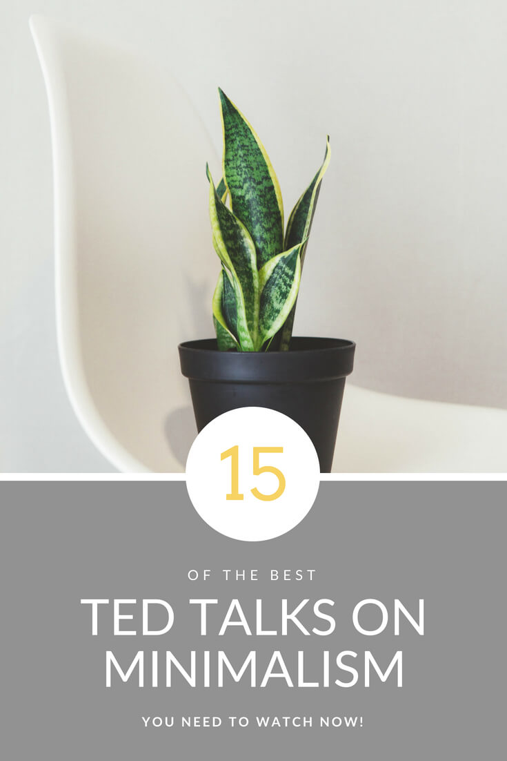 15 of the Best Ted Talks on Minimalism that you Need to Watch Now! Click for more information on living a minimalist lifestyle #minimalistlifestyle #minimalism #simpleliving