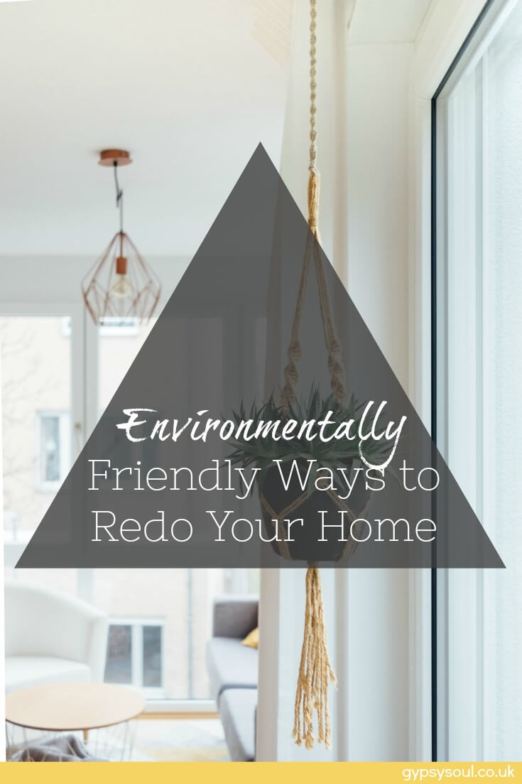 Environmentally Friendly Ways to Redo your Home #HomeDecon #GreenLiving #SimpleLiving #Eco