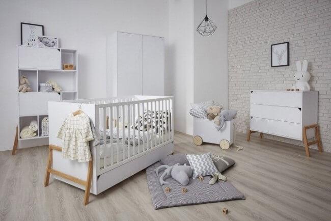 Scandinavian Minimalist nursery