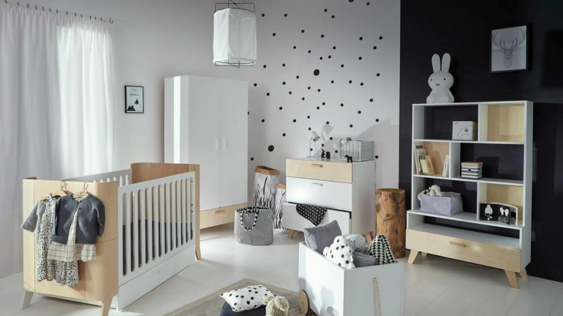 Scandinavian Minimalist style nursery