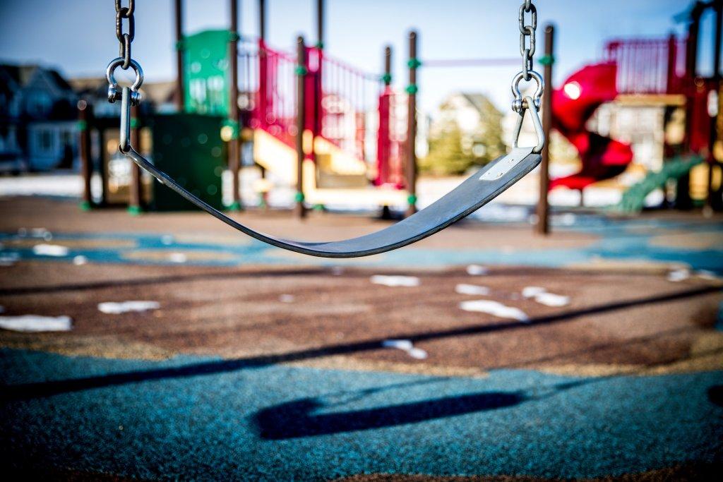 repurpose stasher bags to make soft playground flooring