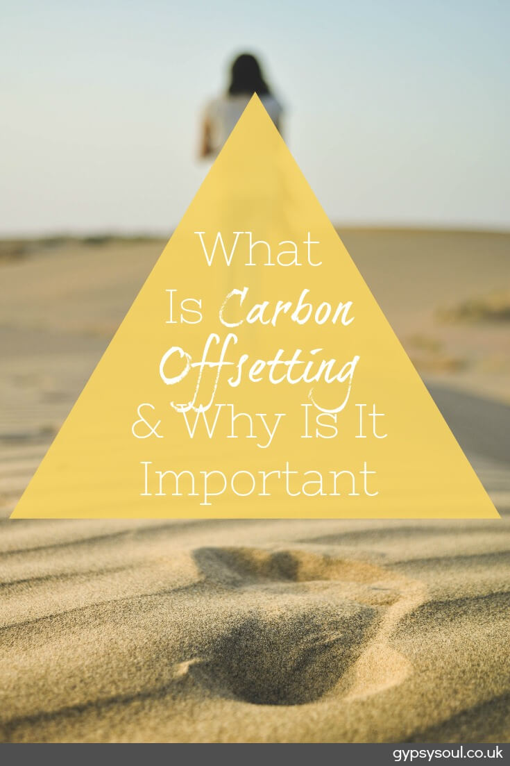 What is carbon offsetting and why is it important