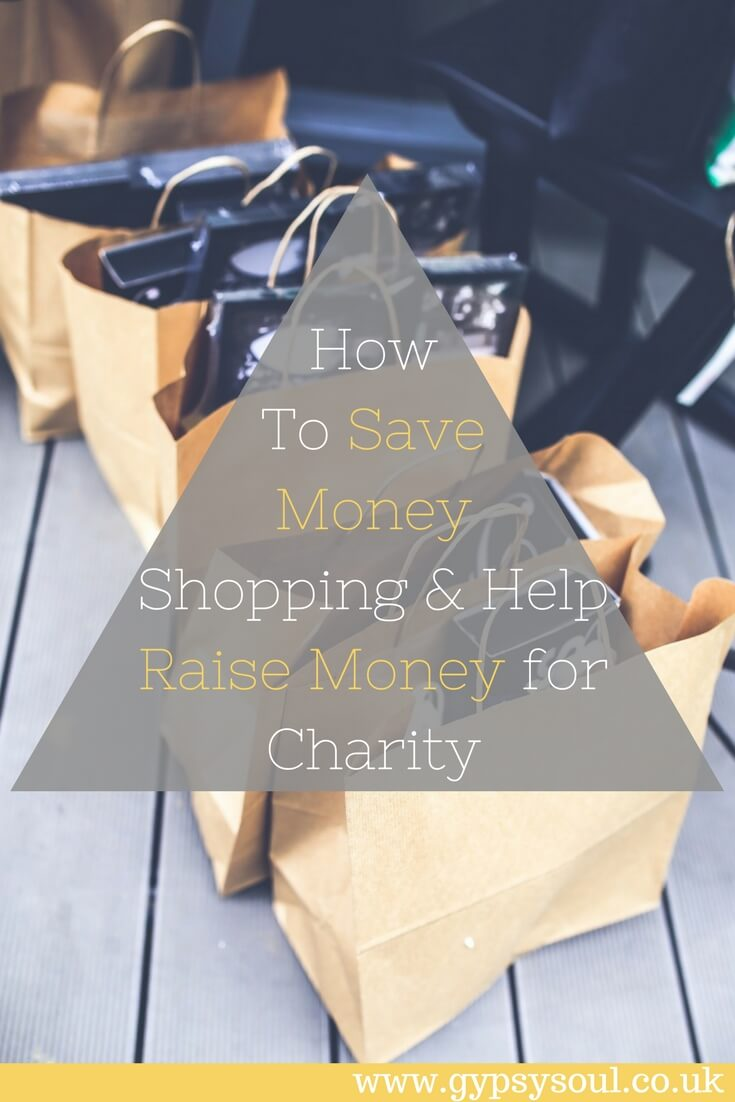 How To Save Money Shopping & Help Raise Money for Charity #SaveMoney #RaiseMoney #Charity #Shopping