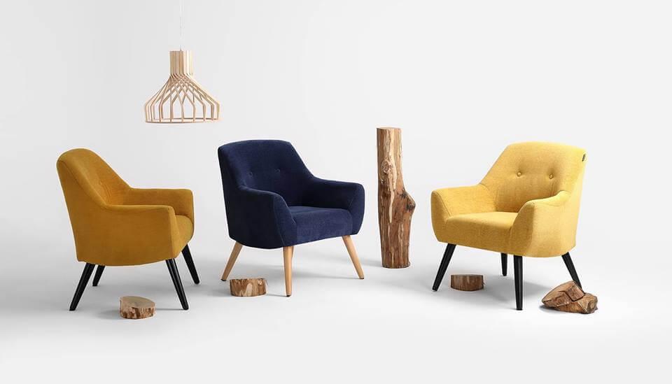Scandi style chairs