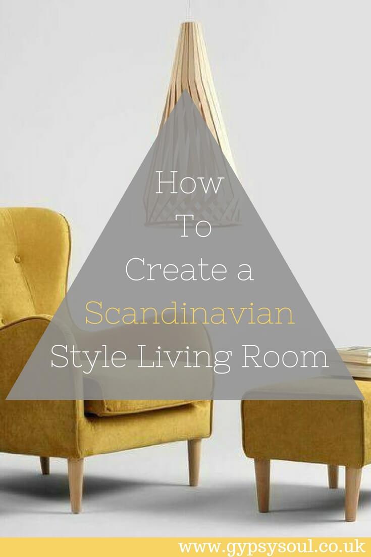 How To Create a Scandinavian Style Living Room #HomeDecor #Home #Scandinavian #InteriorDesign