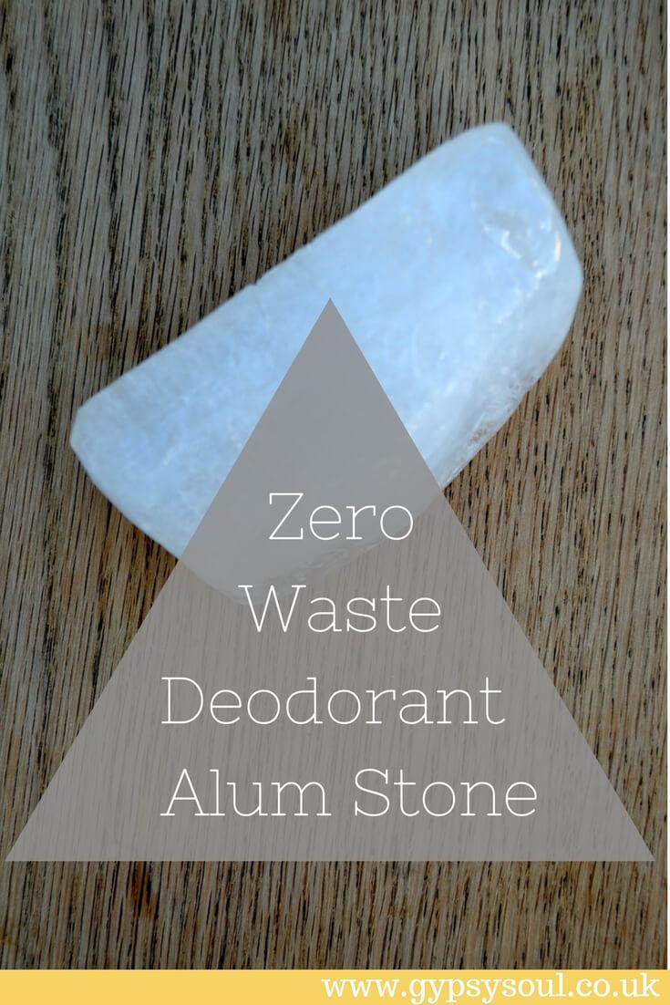 ZERO WASTE DEODORANT - Alum Stone