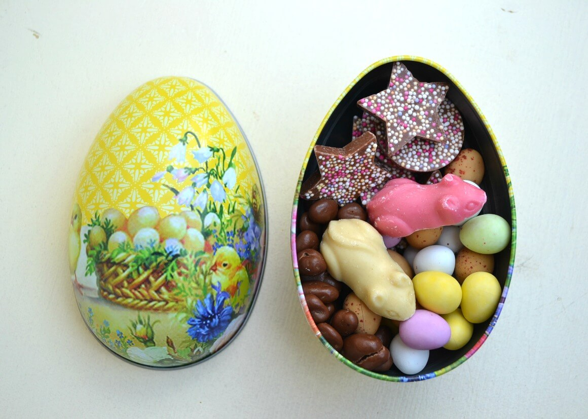 Zero waste Easter eggs Plastic free living