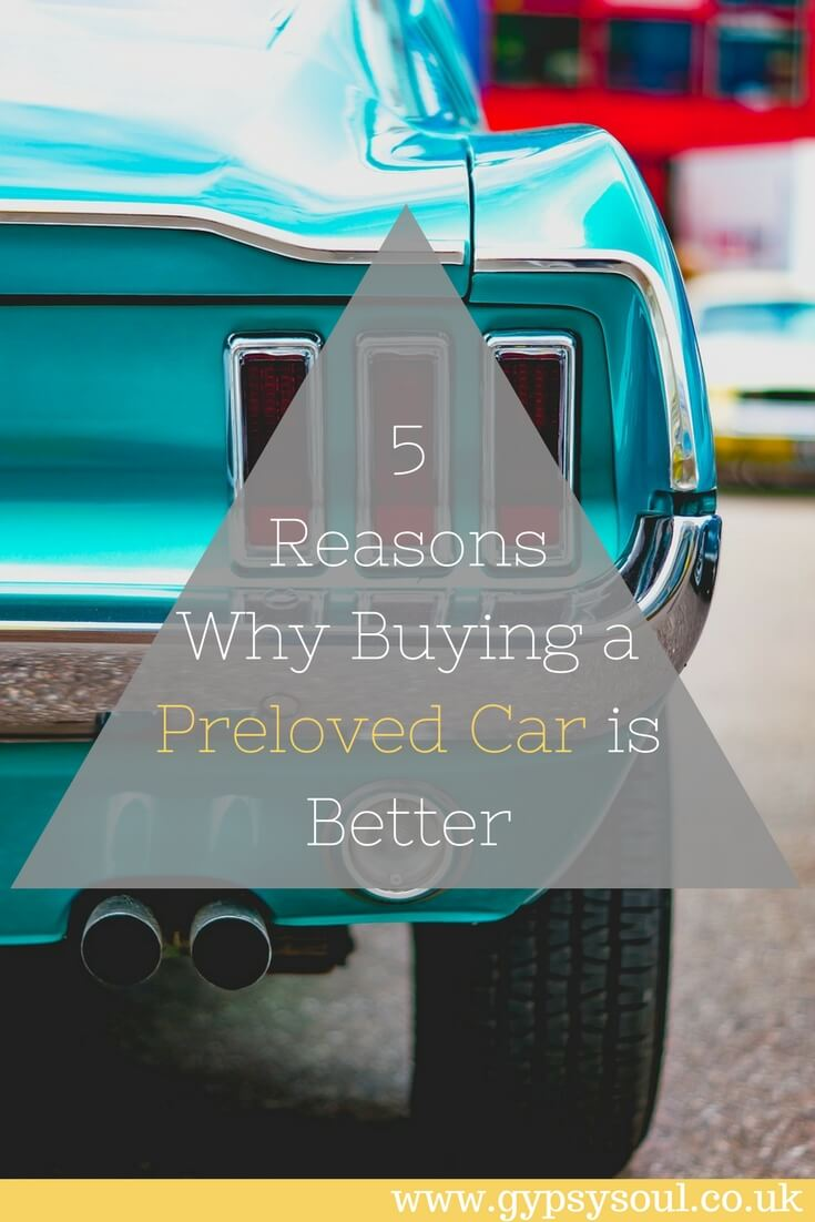5 Reasons Why Buying a Preloved Car is Better #SustainableLiving #GreenLiving #SecondHand #Cars
