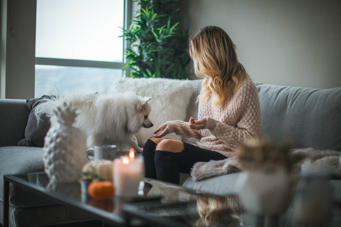 Relaxing at home for better wellbeing