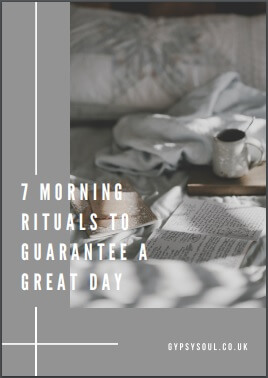 7 morning rituals to guarantee a great day FREE print out