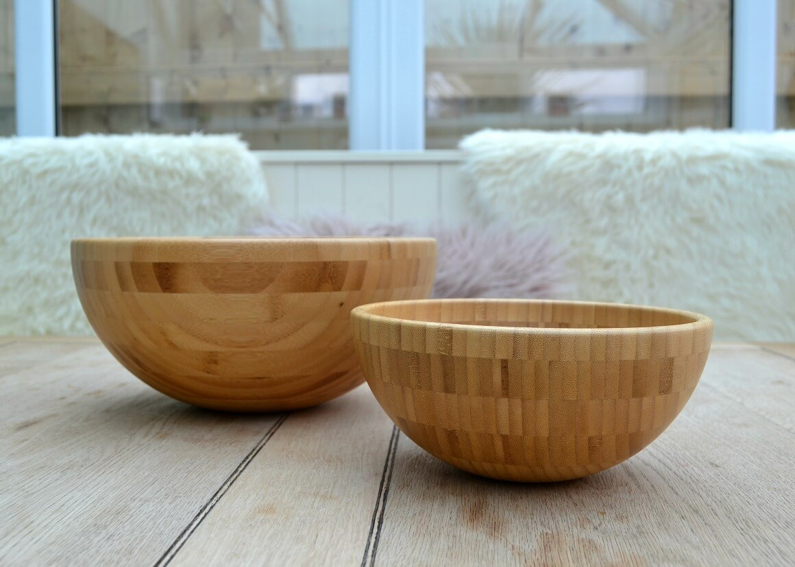 Bamboo serving bowls IKEA