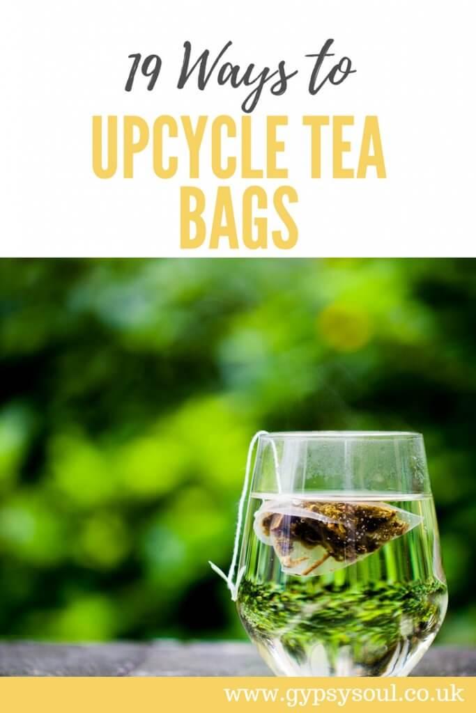 Upcycle tea bags