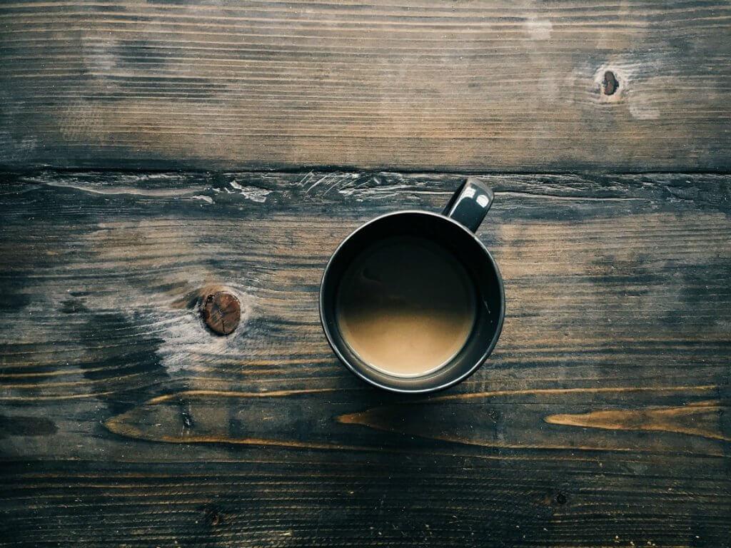 used tea to clean wood
